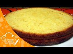Receta: Bizcocho Genovés casero - Ideal para tartas de varias capas - YouTube