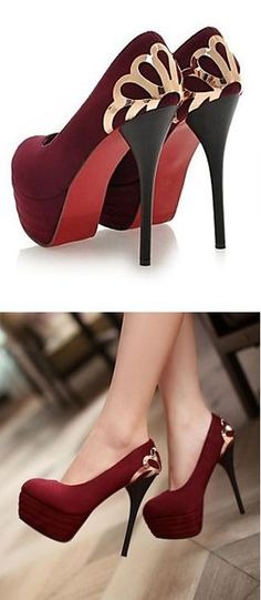 Merlot Deco Pumps ♥