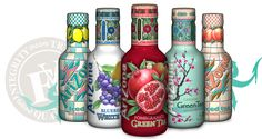 AriZona Green Tea - Iced Tea with Fruit Juices, Ginseng, Honey
