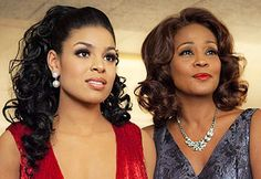 Jordin spars & Whitney Houston look so beautiful. They look like they really could be daughter and mother.
