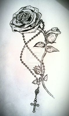 Rosary tattoo - Google Search