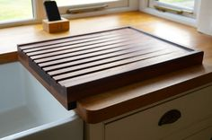 Wooden Draining Boards   MakeMeSomethingSpecial.co.uk