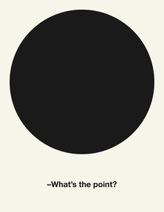 What's the point? - Estudio Javier Jaén
