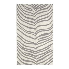 west elm zebra rug. For dining room, maybe?
