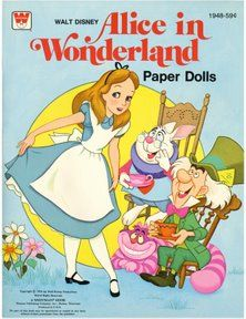 Bonecas de Papel: Alice in Wonderland-cover