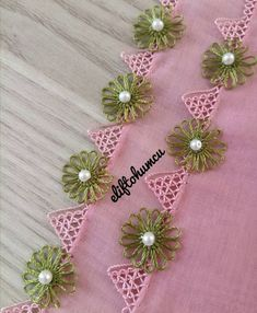 Hand Embroidery Patterns Flowers, Lace Patterns, Baby Knitting Patterns, Crochet Shawl, Diy Crochet, Crochet Stitches, Tatting Lace, Flower Tutorial, Ringtones For Iphone