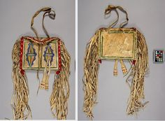 Blackfoot parfleche bag.  Anther. Must., Univ. British Columbia