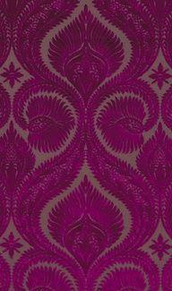 deep magenta - mylusciouslife.com - Luscious patterns