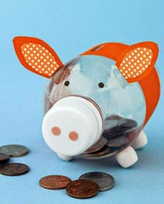 Funny piggy bank!