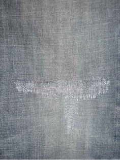 Denim Repair: Mending Rips, Holes, Wears & Tears in Your Jeans