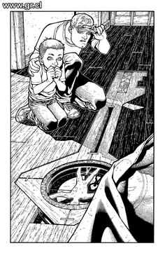 Locke Key CoS 03 pg 02 inks by GabrielRodriguez on DeviantArt