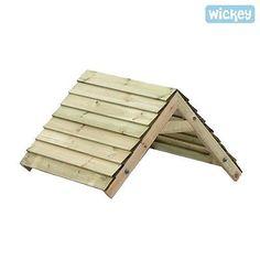 WICKEY Xtra-Roof 89 Dach Spielturm Spielhaus Schaukel
