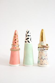 Ceramic Ring Holder, from Baba Souk                                                                                                                                                                                 More