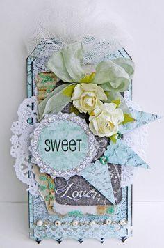 Sweet Love Tag **13 Arts** - Scrapbook.com
