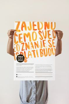 YOUTH OFFICE OBRENOVAC on Behance // my Eastern European languages aren't good but I sure do love this.