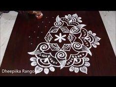 Beautiful friday muggulu design with dots * easy shank kolam * simple rangoli designs Indian Rangoli Designs, Rangoli Designs Latest, Rangoli Designs Flower, Rangoli Border Designs, Small Rangoli Design, Rangoli Ideas, Rangoli Designs With Dots, Rangoli Designs Images, Rangoli With Dots
