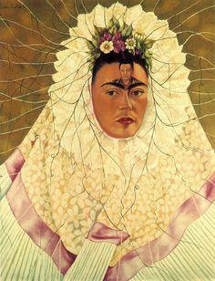 Frida Kahlo. Self Portrait as a Tehuana.