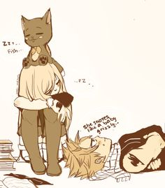 Awww!! For once Natsu doesn't try to do somethiing stupid while Lucy's sleeping! Hehe
