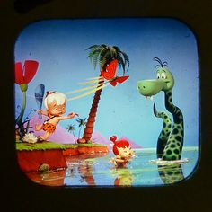 "LANCE CARDINAL: ""THE FLINTSTONES PEBBLES AND BAMM-BAMM"" VINTAGE VIEW-MASTER REELS"