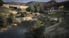 Tongva Valley Rockstar Games, Social Club, Gta 5, Mount Rushmore, Mountains, Nature, Travel, Naturaleza, Viajes