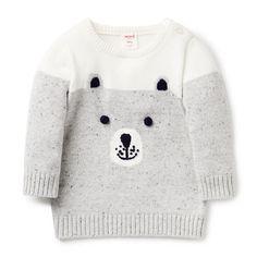 Bear Intarsia Knit