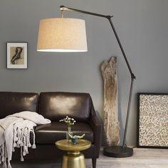 Fancy - Industrial Overarching Floor Lamp