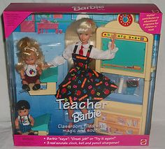 Teacher Barbie - It's what started it all with me <3