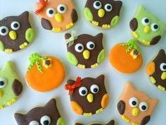 Fall cookies - so cute!