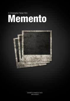 Memento | Minimal movie poster | Francesco Turlà