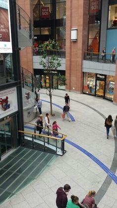 Victoria shopping center Belfast City.