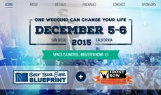 Can ONE weekend change your life? See how 300 people will transform their lives together @ http://BestYearEverLIVE.com