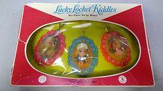 Lucky Locket Kiddles Wee Three Set