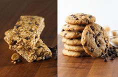8 or Fewer Basic Ingredients - Learn more about our awesome tasting Cookies and Chewy Granola Bars at www.simplyeight.com. Our foods do not contain GMO's, artificial colors, flavors or preservatives, high fructose corn syrup or hydrogenated oils and have 0g trans fat.