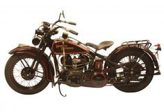 "George Pardos Collection ""Evolution of the Harley-Davidson Motorcycle"": 1930 Harley Davidson Model V"