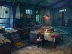 Art Fantasy Kitchen