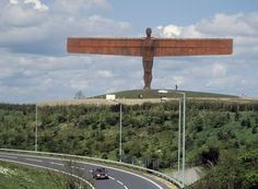English sculptor Antony Gormley, perhaps best known for the amazing Angel of the North sculpture in Gateshead, England. Leeds, Antony Gormley Sculptures, Statues, Angel Of The North, North East England, Royal Academy Of Arts, British Isles, Public Art, Sculpture Art