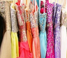 ~Sparkly dresses~