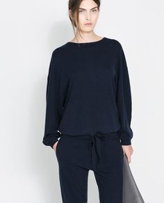 KNITTED JUMPSUIT from Zara
