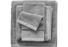 Handtücher, Marc O'Polo Home, »Timeless Uni«, mit Logostickerei für 29,90€. Unifarbenes Handtuch, Walkfrottee Qualität aus 100% Baumwolle bei OTTO