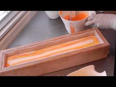 Making & Cutting Venus Luxury Cold Process Soap - YouTube