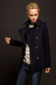 LIMITED EDITION NAVY TRENCH COAT - Massimo Dutti