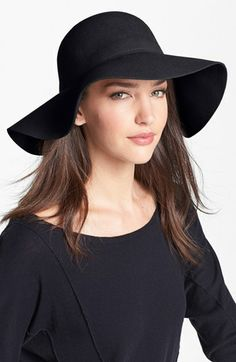 Nordstrom Wool Felt Floppy Brim Hat available at #Nordstrom