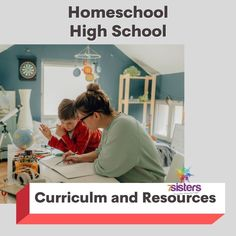 """There is not ONE right way to homeschool high school…so there is not ONE right way to choose curriculum. Your """"big sisters"""" can help you explore a number of considerations that will help you choose wisely for YOUR homeschool high school. Writing Curriculum, Big Sisters, Homeschool High School, Choose Wisely, Coaching, Literature, Study, Explore, Number"""