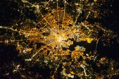 Linda Schenk shared NASA Goddard's photo.  Baltimore, from the International Space Station!