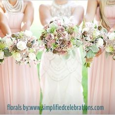 Pastel wedding. Chabby chic touches