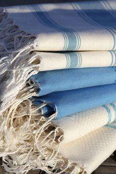 Mixed blue textures Striped Flats, Blue Texture, Articles, Textiles, Handicraft, Fabrics, Textile Art