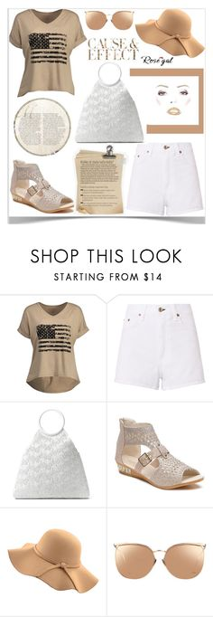 """""""Rosegal"""" by kiveric-damira ❤ liked on Polyvore featuring rag & bone, Michael Kors, WithChic, Linda Farrow and Envi:"""