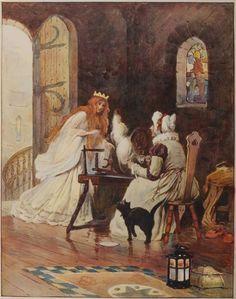 Sleeping Beauty,William Henry Margetson