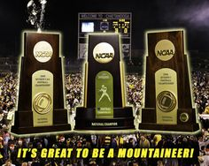 2005-2007 National Champions! Picture at Appalachian State Mountaineer Photos