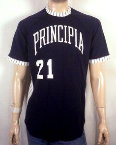 bf563bd7bf2a vtg 70s 80s Champion Principia NCAA Baseball Jersey Shirt christian science  L Christian Shirts